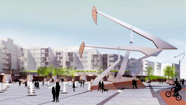 Reabilitarea și modernizarea centrului, Câmpina