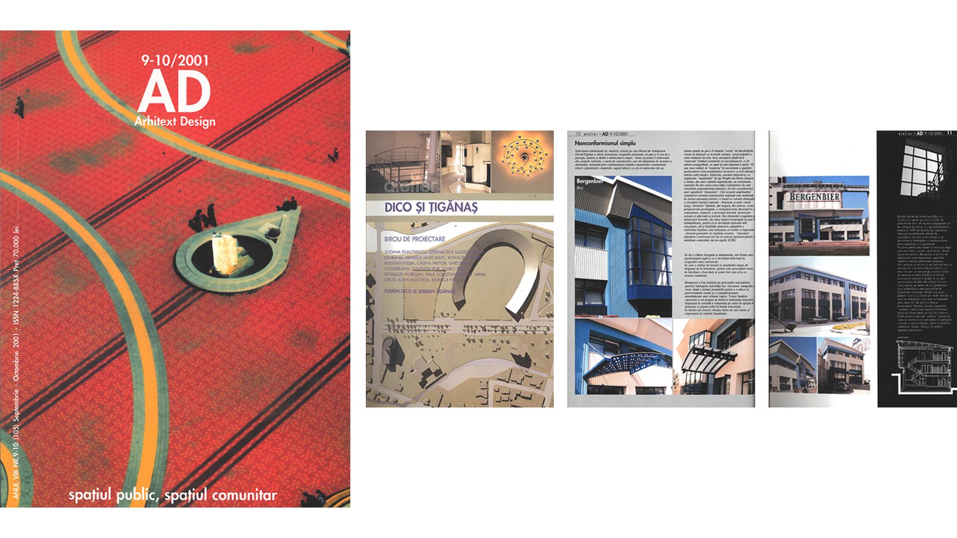 Arhitext Design, Dico și Țigănaș feature, 2001