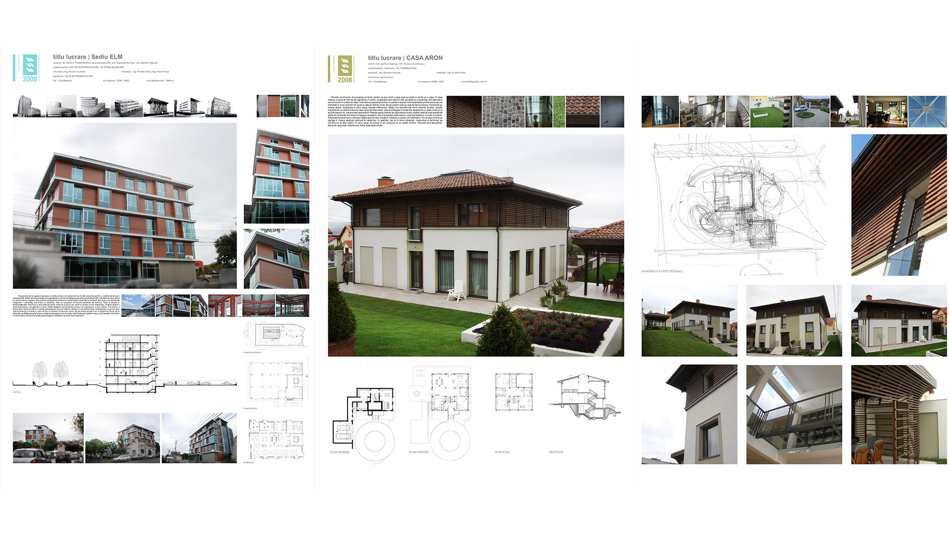 Expoziția Bienalei de Arhitectură, București, 2008