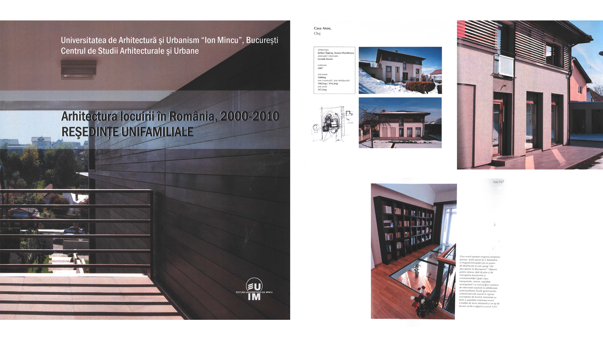 UAUIM, The architecture of living in Romania 2000-2010, 2011
