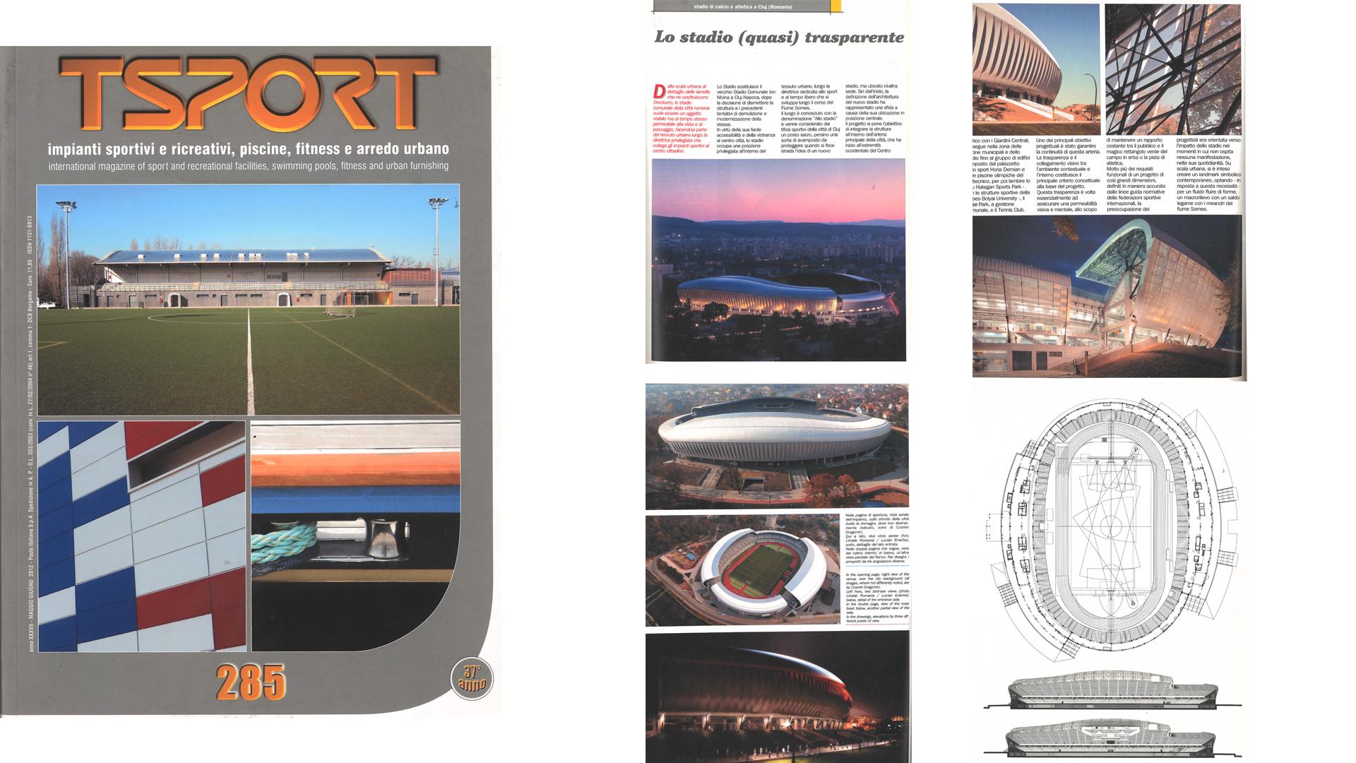 TSPORT Italia, Cluj Arena, 2012