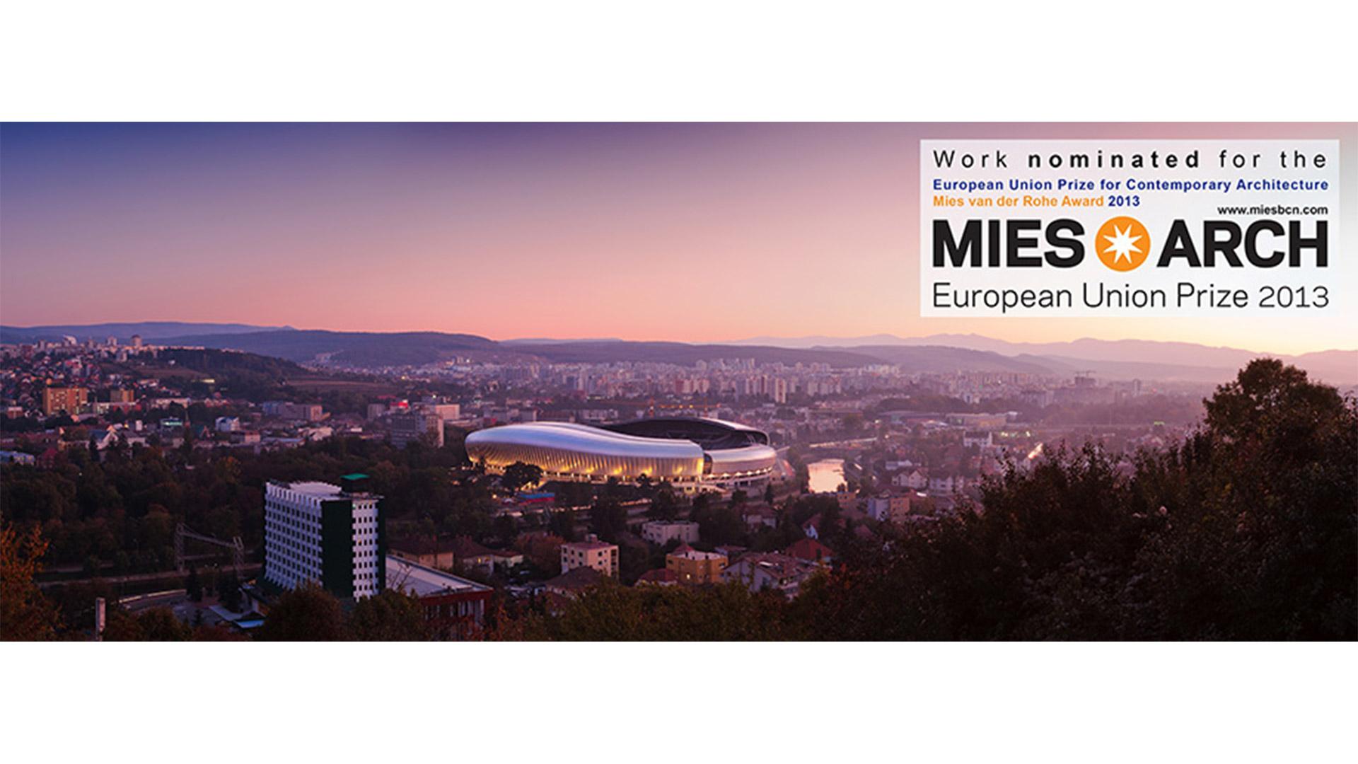Nominalizare la Premiul Uniunii Europene pentru Arhitectura Contemporana Mies van der Rohe, Barcelona, 2013