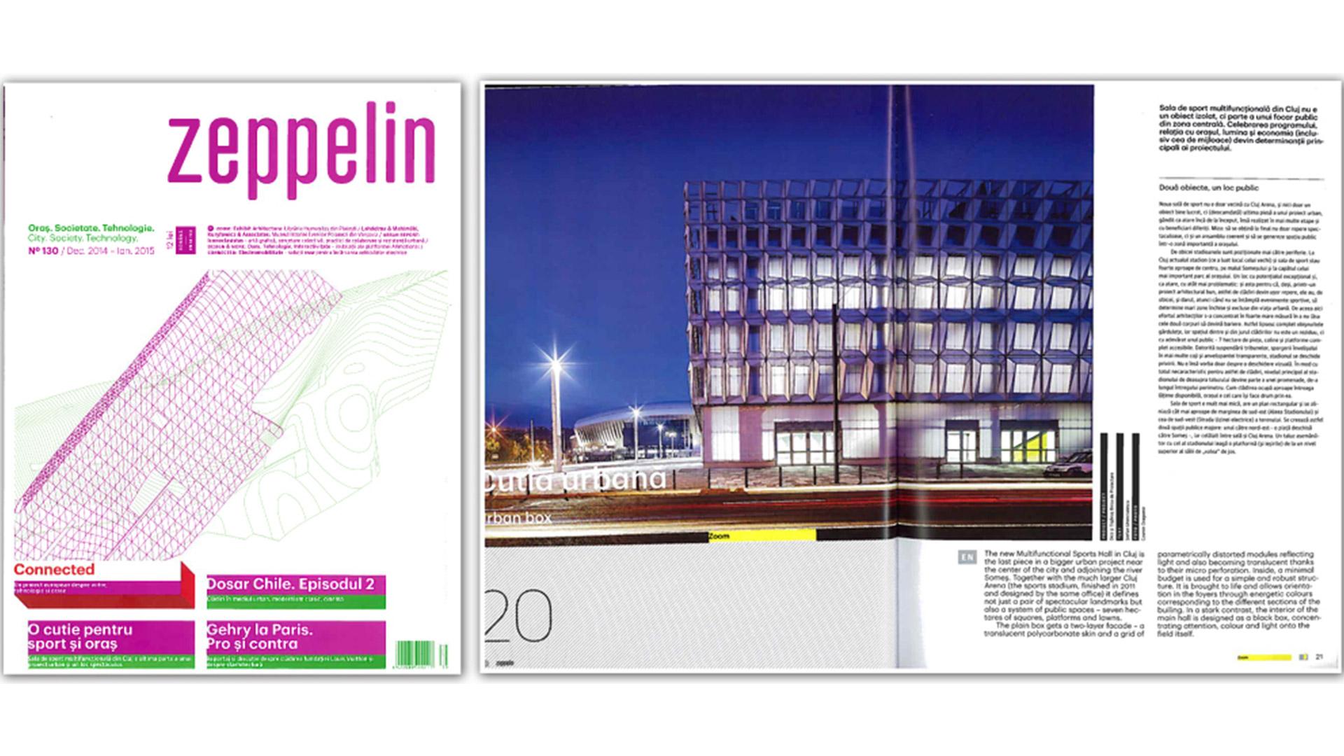 Zeppelin Magazine, BT Arena, 2015
