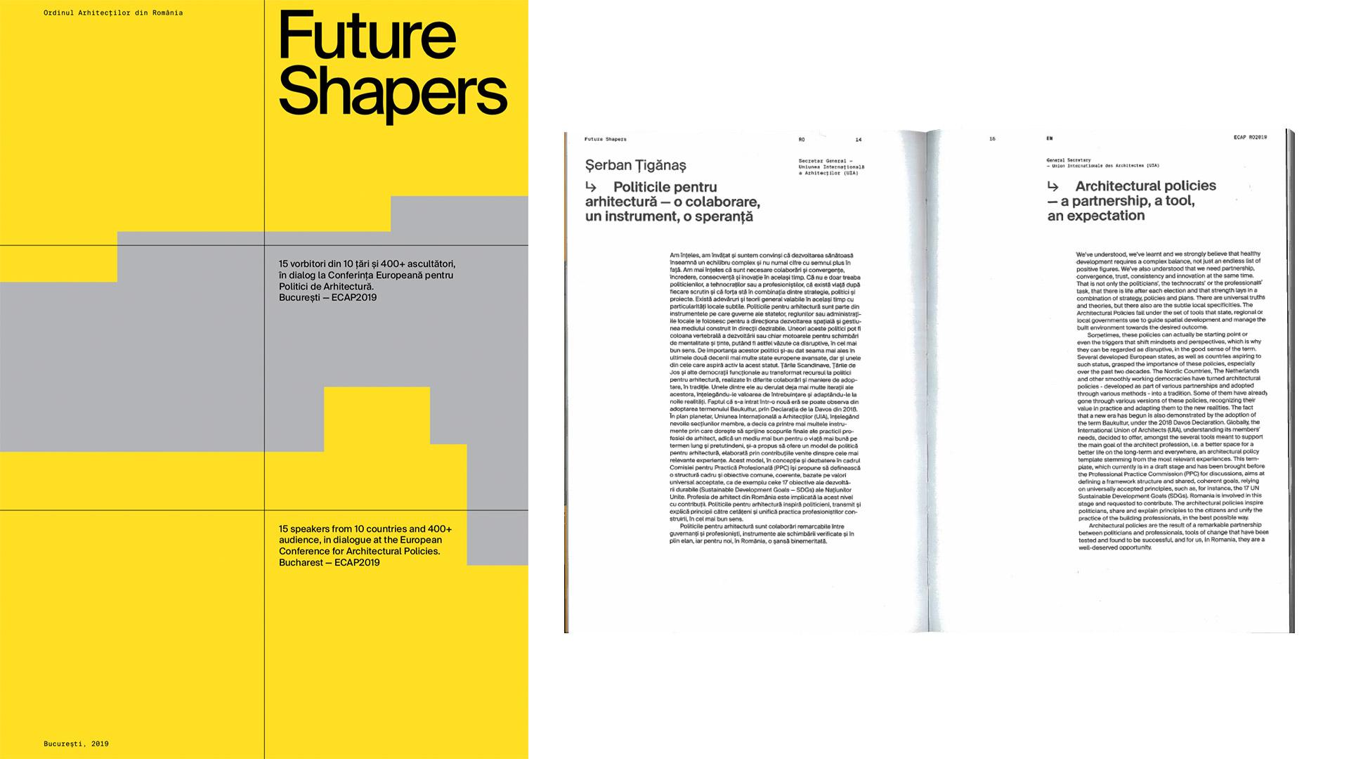 Future Shapers – articol, 2019