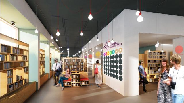 Librarium Bookstore-phase I, Cluj-Napoca