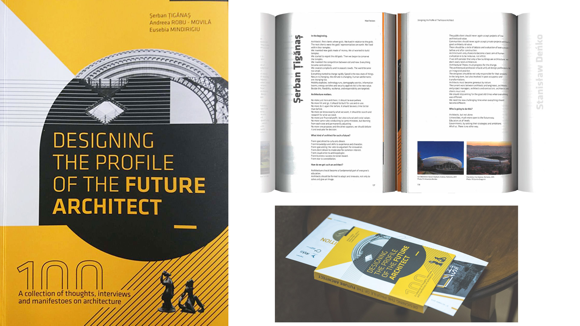 Designing the profile of future architects, proiect editorial, 2019