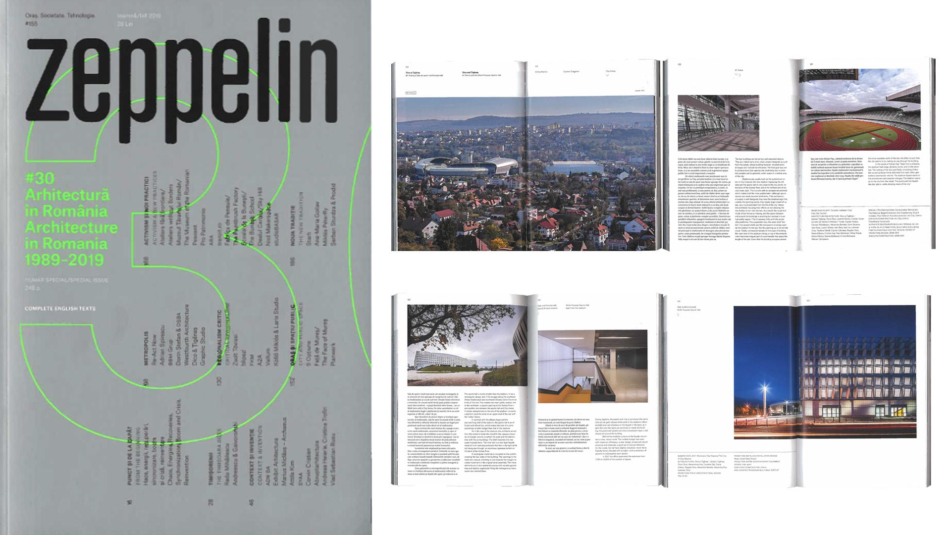 Zeppelin, #30 Architecture in Romania 1989-2019, 2019