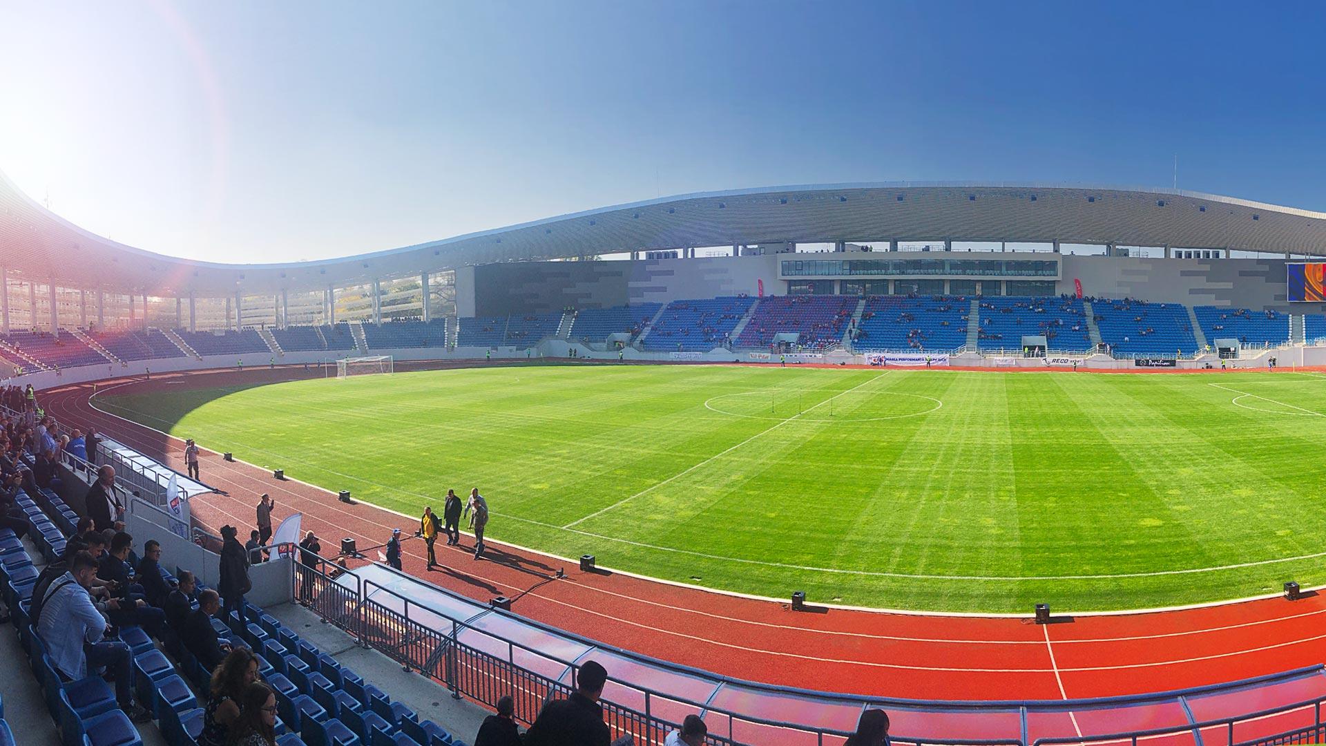 Târgu-Jiu Stadium, Opening, 2019