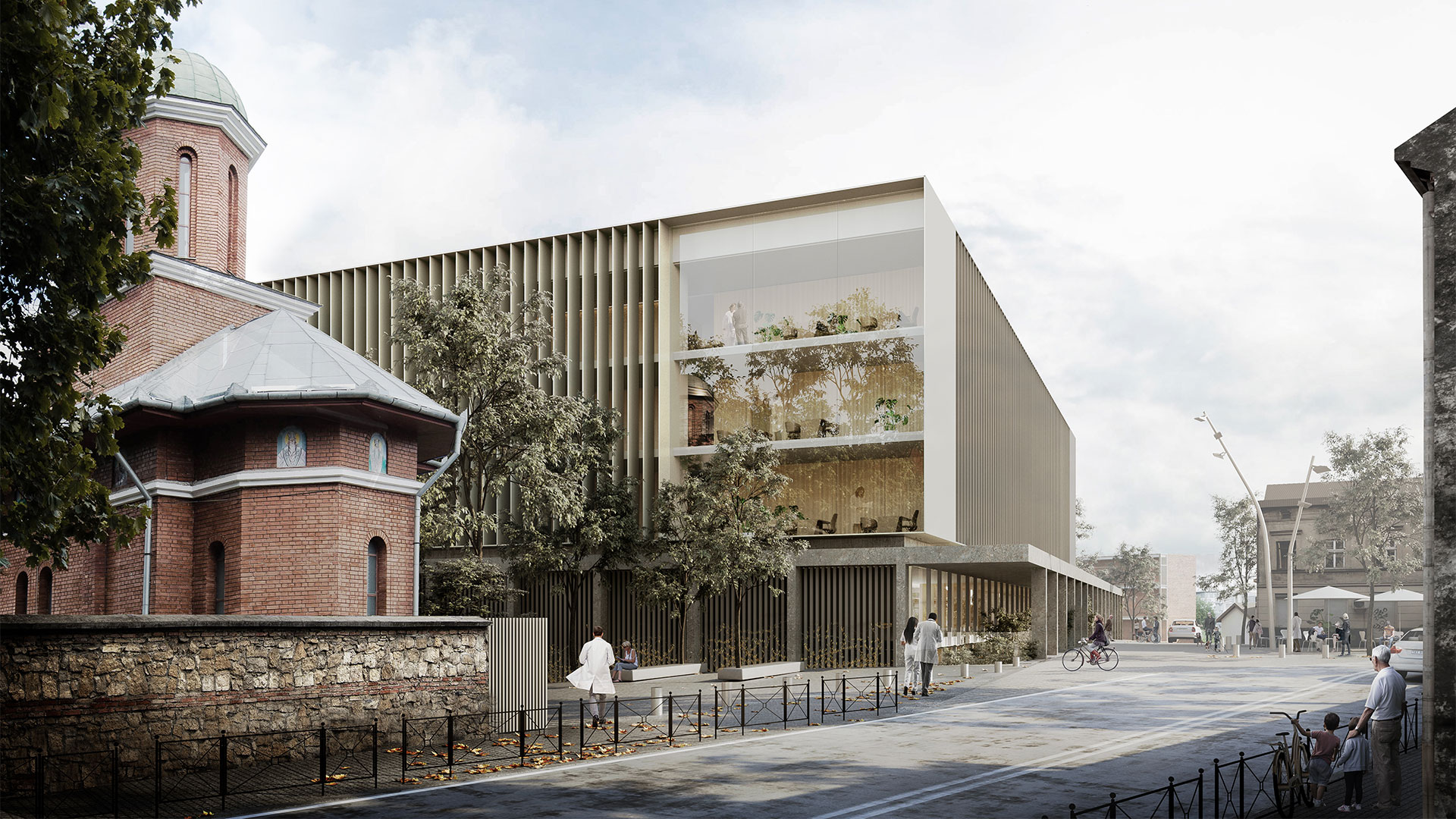 Cluj-Napoca Comprehensive Transplant Centre, Signed design contract, 2020