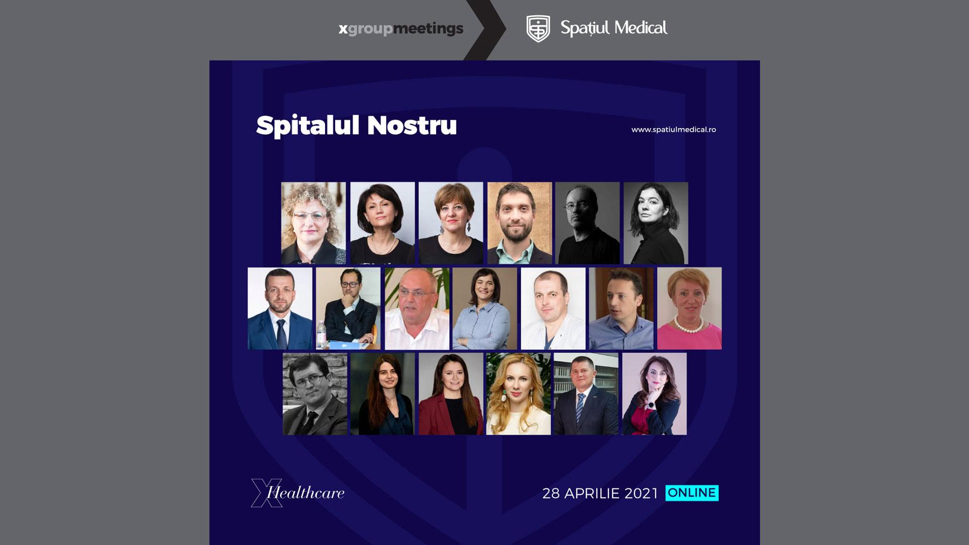 Convenției Române a Spitalelor ROHO, Spitalul Nostru 2021